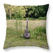 8 String Esp Ltd Jr608 2 Throw Pillow