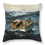The Gulf Stream Throw Pillow
