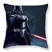 Wars Star Art Throw Pillow