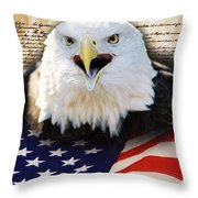 We The People. Throw Pillow