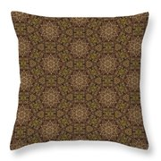 Arabesque 035 Throw Pillow