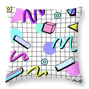 80s Retro Party Grid Poster
