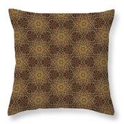 Arabesque 034 Throw Pillow