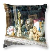 8238- Little Havana Store Throw Pillow