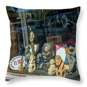 8241- Little Havana Store Throw Pillow