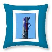 #8667 Woodpecker Throw Pillow