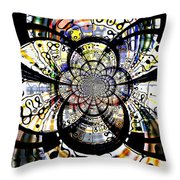 88 Throw Pillow by Donna Bentley