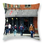 8th Ave. And W 22nd Street Chelsea Throw Pillow