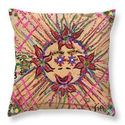 8th Day Of Christmas Throw Pillow