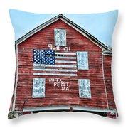 9 11 Tribute Throw Pillow