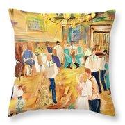 9/23/17 Rustic Barn Nuptial Throw Pillow