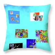 9-6-2015habcde Throw Pillow