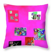 9-6-2015habcdefghijklmnopqrtuvwxyzabc Throw Pillow