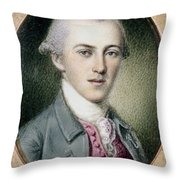 Alexander Hamilton Throw Pillow by Granger