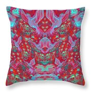 Birds Symphony Throw Pillow