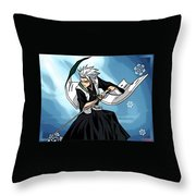 Bleach Throw Pillow