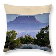 Canyonlands National Park Utah Throw Pillow