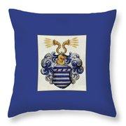 Coat Of Arms. Throw Pillow