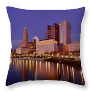 Columbus, Ohio Throw Pillow