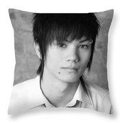 emo Throw Pillow