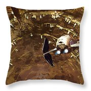 Episode 1 Star Wars Poster Throw Pillow