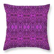 Purple Shade Throw Pillow