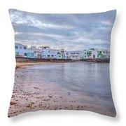 Famara - Lanzarote Throw Pillow