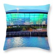 Glasgow, Scotland Throw Pillow