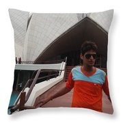 Harpal Singh Jadon Throw Pillow