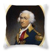 Horatio Gates, C1728-1806 Throw Pillow