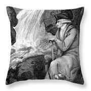 Jean Jacques Rousseau Throw Pillow