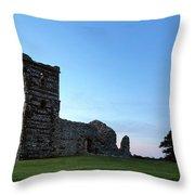 Knowlton Church - England Throw Pillow