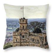 Lincoln England United Kingdom Uk Throw Pillow