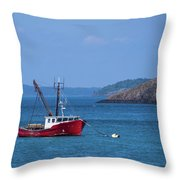 Lubec ,maine  Throw Pillow