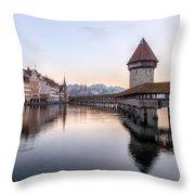 Lucerne - Switzerland Throw Pillow