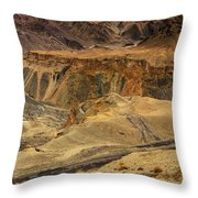 Moonland Ladakh Jammu And Kashmir India Throw Pillow