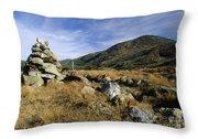 Mount Washington - White Mountains New Hampshire Usa Throw Pillow