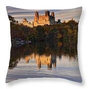 New York Central Park Throw Pillow