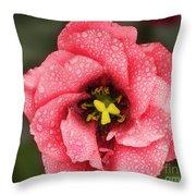 Nice Flower Throw Pillow