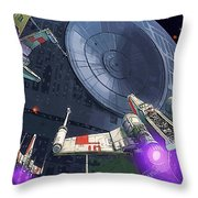 Original Star Wars Poster Throw Pillow