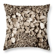 Pebbles 1 Throw Pillow