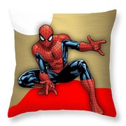 Spiderman Collection Throw Pillow