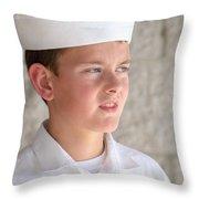 Us Naval Sea Cadet Corps - Gulf Eagle Division, Florida Throw Pillow