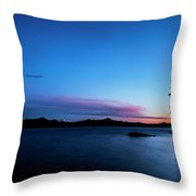 Waldo Lake Throw Pillow