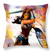 Wonder Woman Throw Pillow