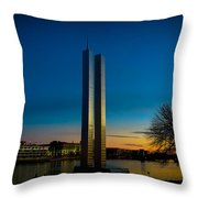 911 Memorial Green Bay Wi Throw Pillow