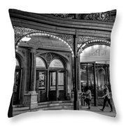 9.21.2015 Busy Night At The Pabst Throw Pillow