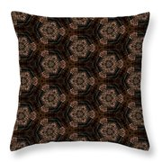 Arabesque 025 Throw Pillow
