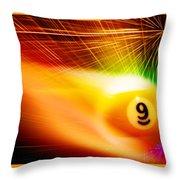 9onfire Throw Pillow
