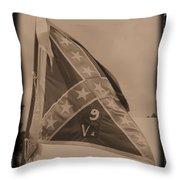 9th Virginia Throw Pillow